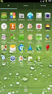 Go Galaxy S3 Theme Dew - screenshot thumbnail