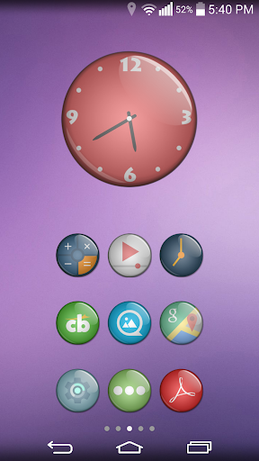 Eye Candy Multilauncher Theme