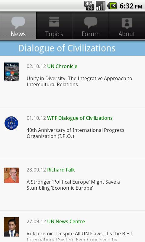 Dialogue of Civilizations - screenshot