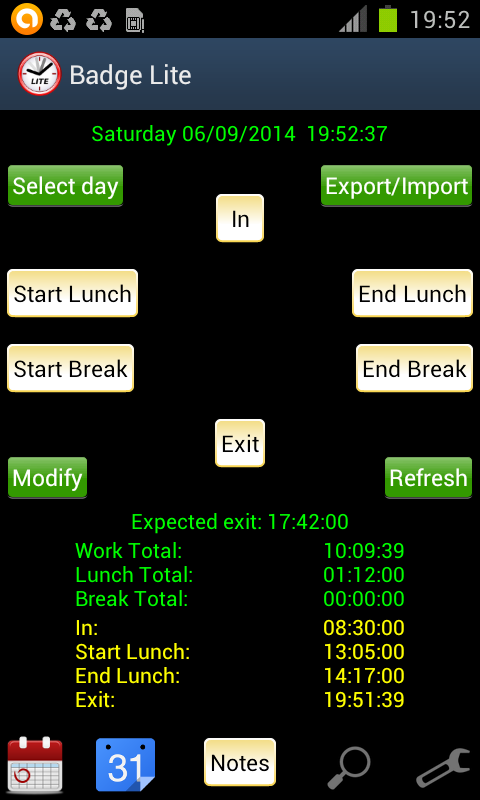 Badge Lite - screenshot