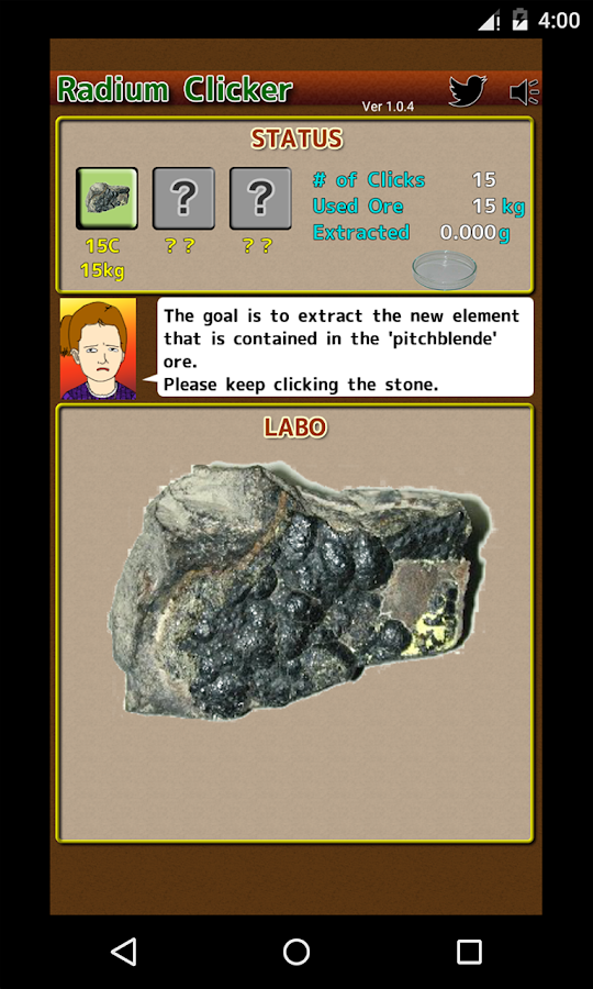 Radium Clicker- screenshot