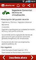 Screenshot of Laboris Jobs
