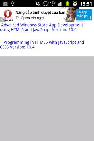 MS MCSD Window Store App HTML5