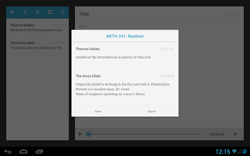TapNotes - Meeting Recorder- screenshot thumbnail