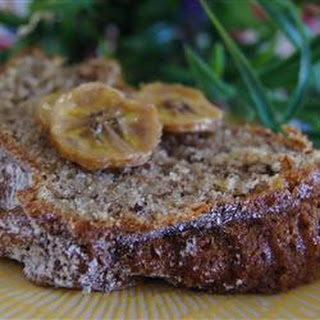 Dad's Banana Nut Bread.
