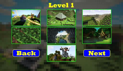 拼图的Minecraft