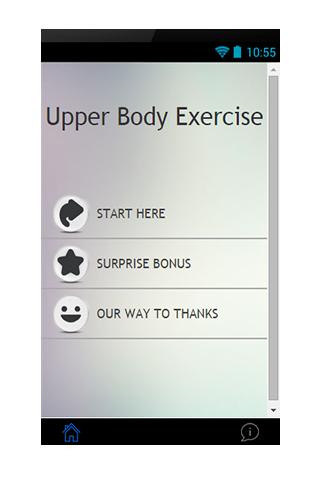 Upper Body Exercise Guide