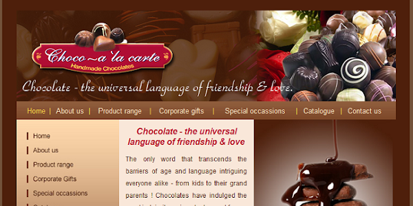Chocoalacarte screenshot 1