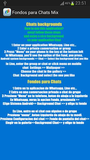Fondos de pantalla para Chat
