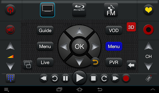 TS Pro Universal Remote IR-IP - screenshot thumbnail