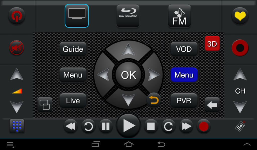 Touchsquid GR PRO Remote - screenshot