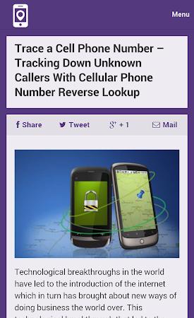 Mobile Number Tracker Tips 1.0 screenshot 9975