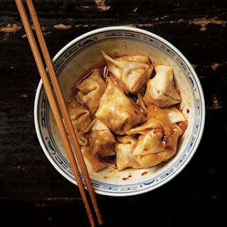 Chao Shou (Sichuan Pork Wontons).