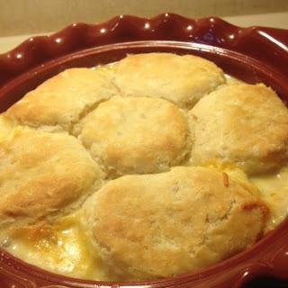 Creamed Chicken & Biscuits.