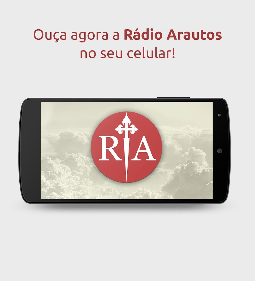 Radio Arautos do Evangelho: captura de tela