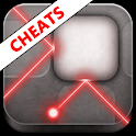 Lazors Cheats Guide Answers logo