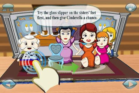Cinderella 3D Pop-up Book Lite - screenshot thumbnail
