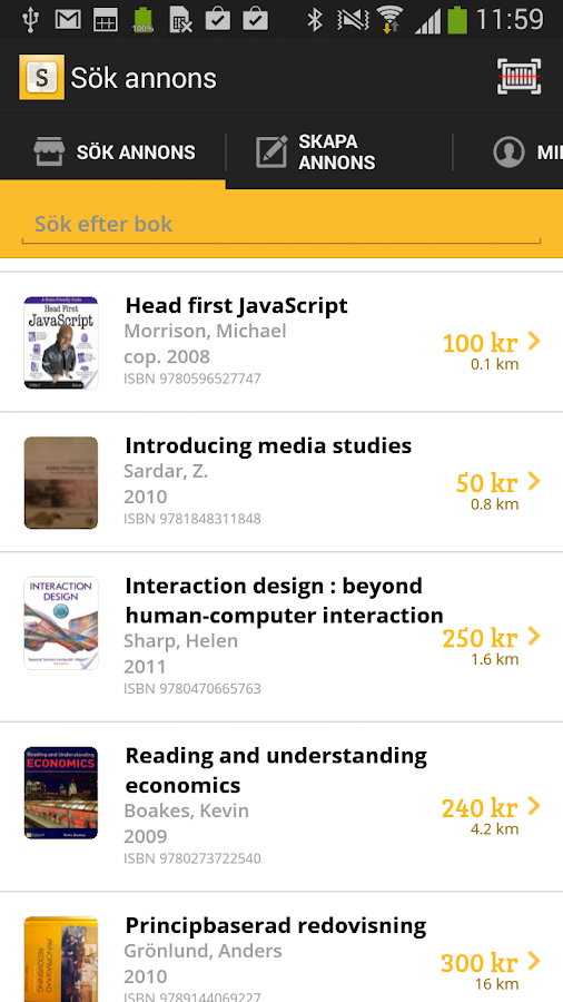 Sture Student- screenshot