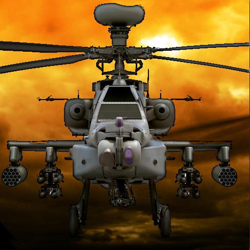 戰鬥直升機3D飛行 模擬 LOGO-玩APPs