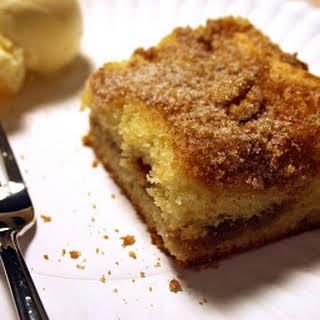 Gluten Free Yum Yum Coffee Cake.