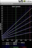 Screenshot of Gear Speed Calculator
