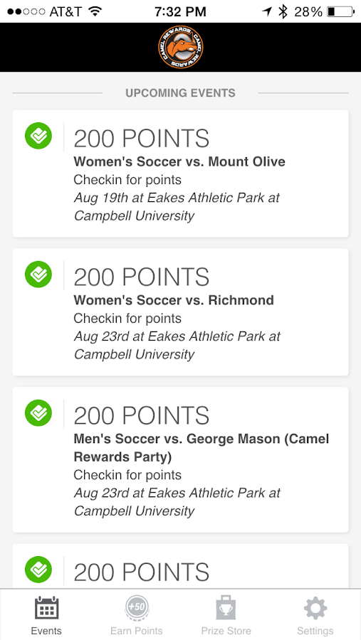 Camel Rewards - screenshot