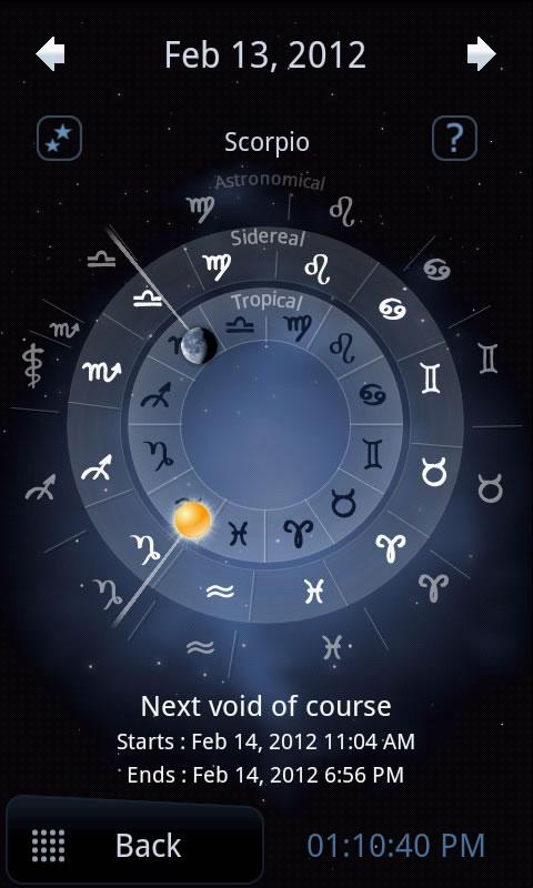 Deluxe Moon - Moon Calendar - screenshot