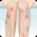 Leg Nursing Care icon