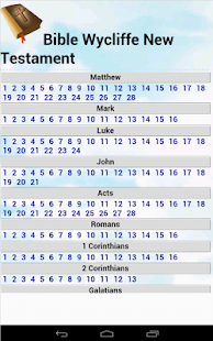 Bible Wycliffe New testament- screenshot thumbnail