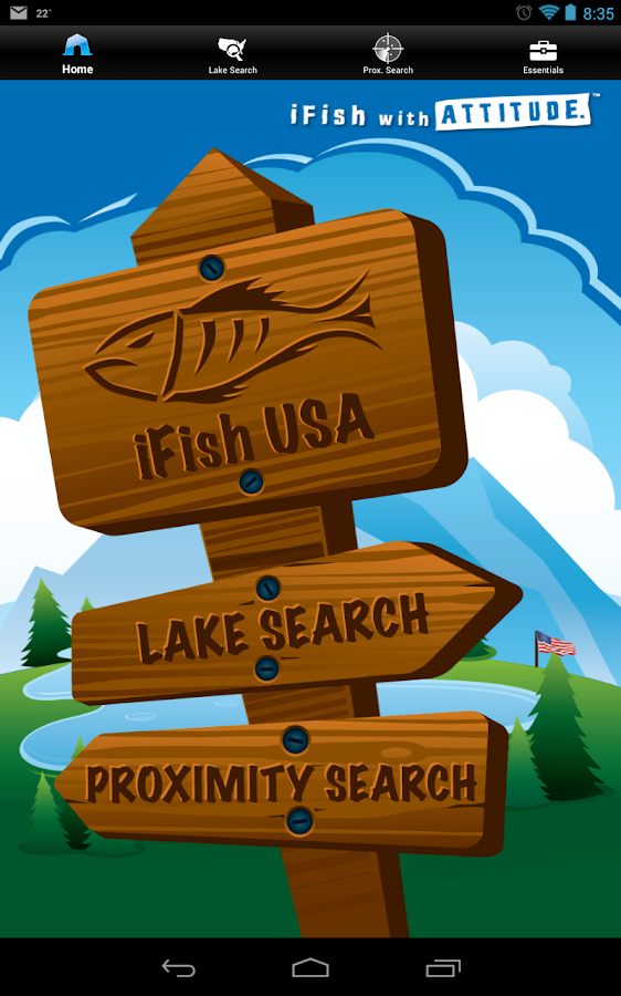 iFish USA- screenshot
