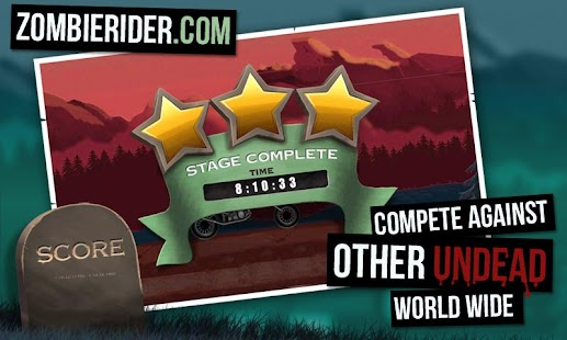 Zombie Rider Free- screenshot thumbnail