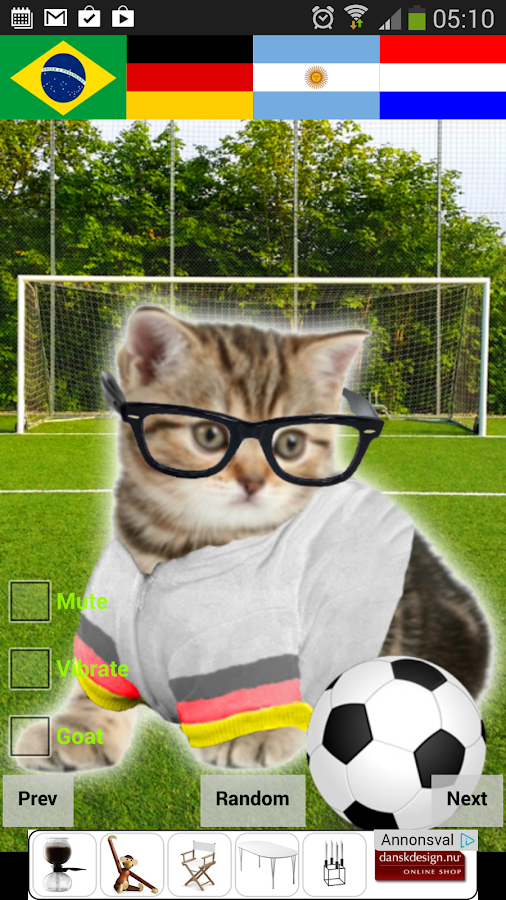 Crazy Hipster Cat- screenshot
