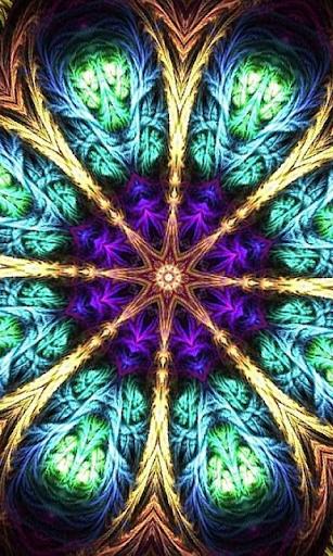 Mandala 3d Live Wallpaper