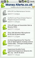 Screenshot of Deals, Coupons & Gifts