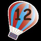 數字十二 icon