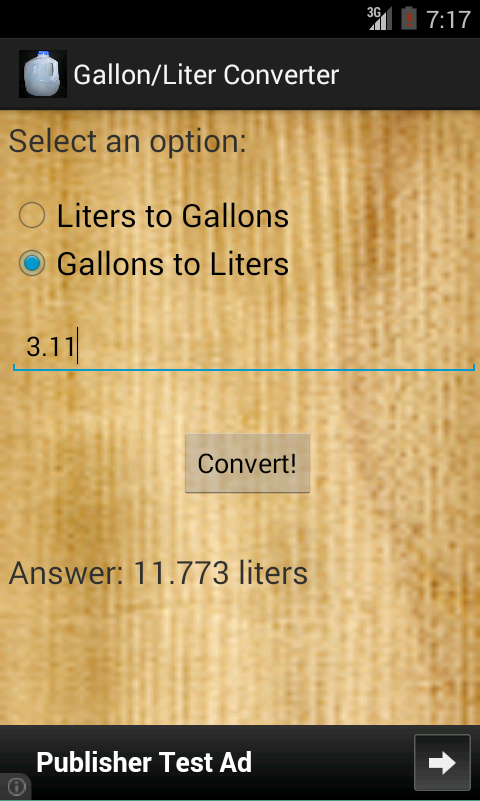 gallon liter converter android apps on play