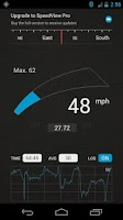 Screenshot of SpeedView: GPS Speedometer