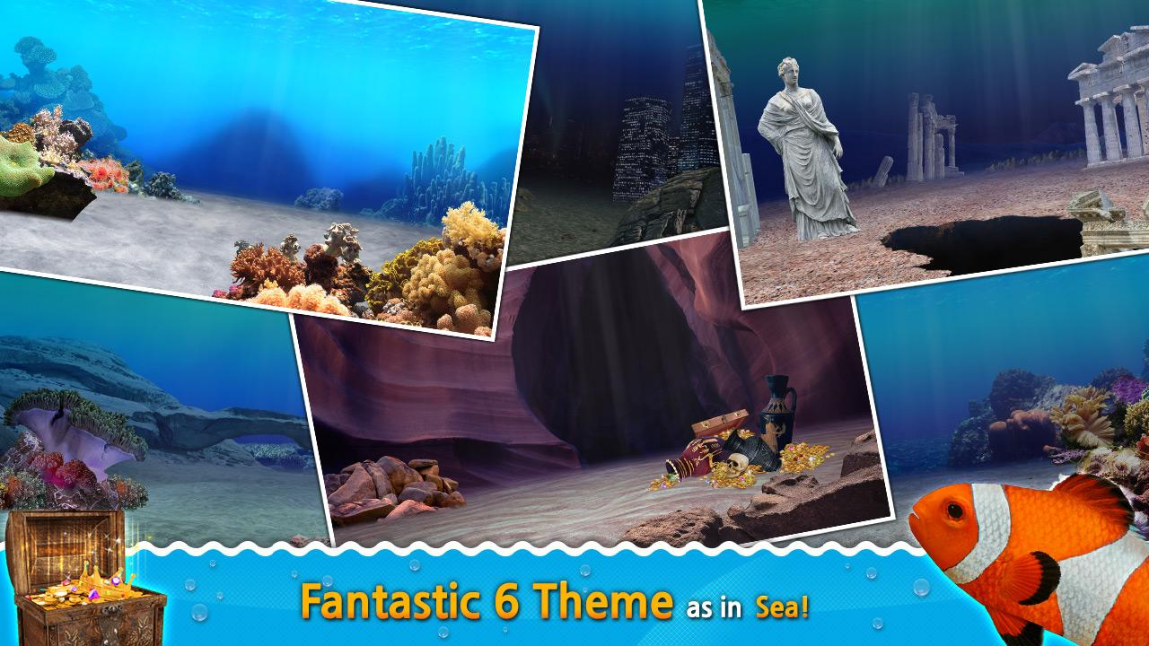 Aquarium fish tank game - Fish Aquarium Game 3d Ocean Screenshot