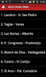 Bus Logroño y Metropolitano: miniatura de captura de pantalla