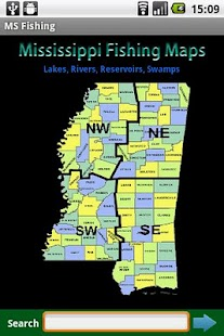 App mississippi fishing maps 9k apk for windows phone for Mississippi fish and game
