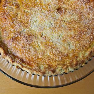 Blood Orange Lemon Vanilla Infused Shaker Pie