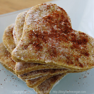 Chickpea Crackers.