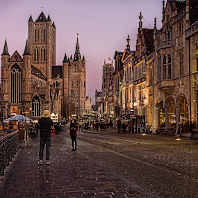 Gent by Ева Йорданова - City,  Street & Park  Street Scenes ( Travel, People, Lifestyle, Culture,  )