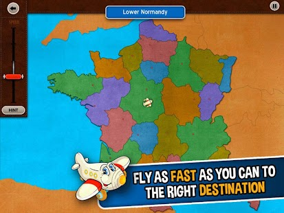 GeoFlight France: Geography- screenshot thumbnail