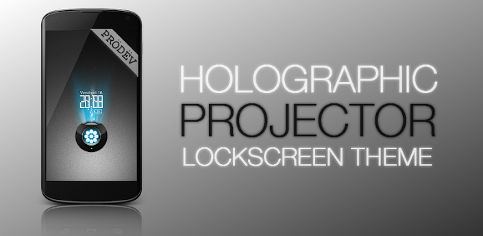 Projector GO Locker Theme