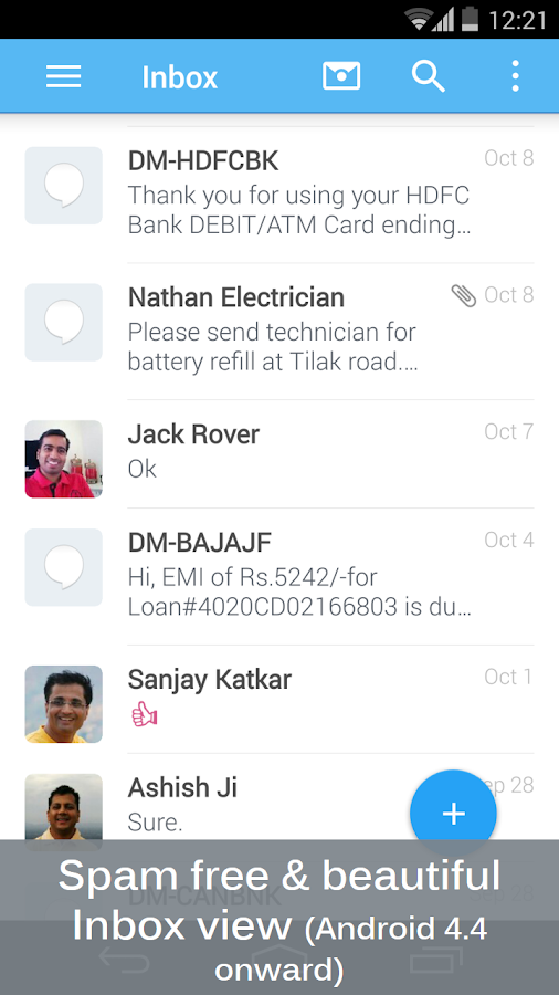 SMS & Spam Blocker Clean Inbox- screenshot