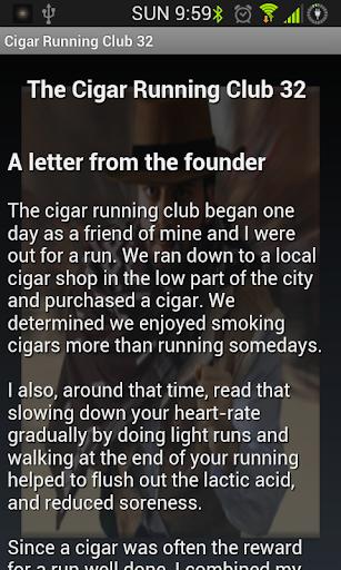 Cigar Running Club 32