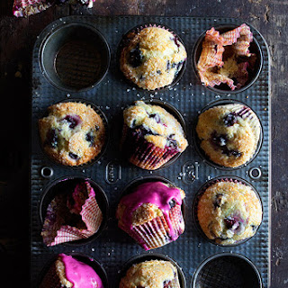 Easy Blueberry Muffin.