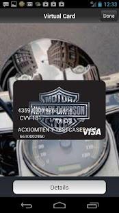 Harley-Davidson Visa - screenshot thumbnail
