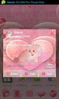Screenshot of GO SMS Pro Theme Kitty